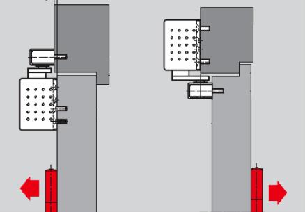 Установка доводчика устанавливается на дверную коробку со стороны противоположной петлям, или на дверное полотно со стороны петель