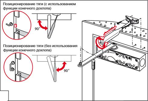 DORMA TS Profil - инструкция дохлоп